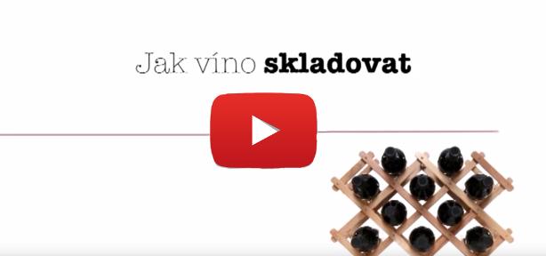 Jak víno doma uložit